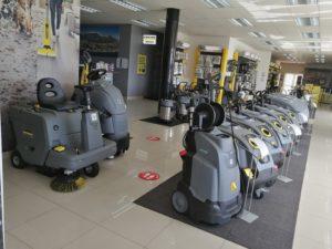 Karcher Center ITS showroom